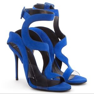 giuseppe zanotti | cobalt heels
